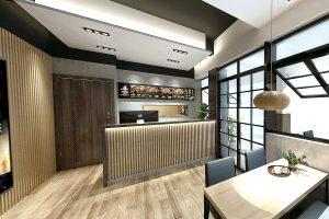 便當店設計/店面設計/裝潢設計/品牌設計/室內設計