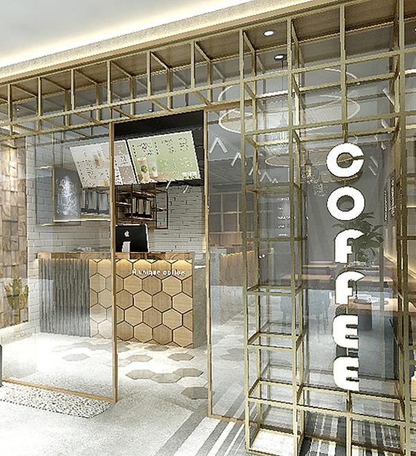 咖啡店設計/店面設計/裝潢設計/品牌設計/室內設計