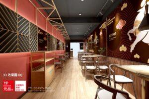 工業風餐廳設計-漁川鍋物火鍋店設計-裝潢設計-店面設計-11